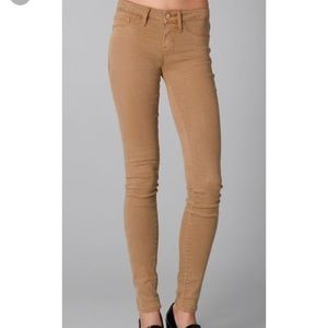 marc by marc jacobs Gold  Mid-Rise Skinny Jean 32